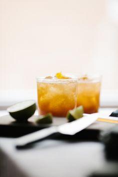 Ginger Peach Rum Pun