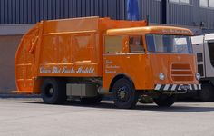 1962 DAF G1600 Huisvuilwagen.