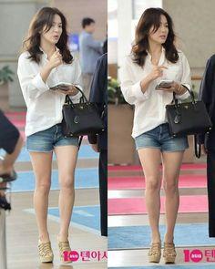 Song Hye Kyo - Incheon Departure (160721)  (via : weibo) #songhyegyo…