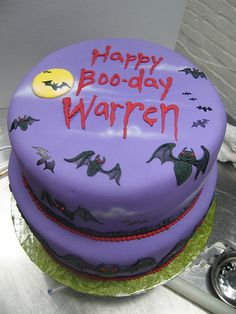 Halloween Birthday cake | Flickr - Photo Sharing!