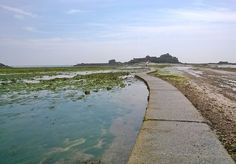 The path to Elizabeth Castle, St Helier, Jersey. Channel Islands, Paths, Castle, Country Roads, Chanel, Beach, Outdoor, Outdoors, The Beach