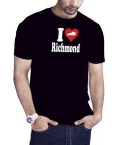 I Love Richmond Kentucky T-Shirt Black