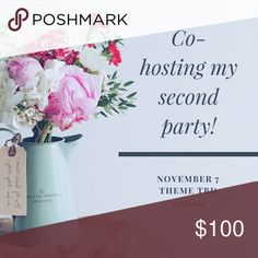 EVERYTHING PLUS SIZE! Co-hosting my second Posh party! Tuesday Nov 7 at 7pm EST. Everything plus size. Check out my closet during the party for Accessories