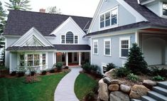 44 The Ultimate Solution For New England Homes Exterior Paint Color Ideas 59 Cheap Vinyl Siding, Vinyl Siding Colors, Home Building Tips, Building A House, Exterior Colors, Exterior Paint, Exterior Homes, Certainteed Vinyl Siding, House Siding