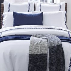 Indigo Angles Luxury Bedding Collection | Nautical Luxuries