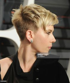 Fotografía de noticias : Actress Scarlett Johansson arrives at the 2017...