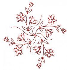 Blossoming Borders embroideri pattern, needlework, craft design, embroideri stencil, flower patterns