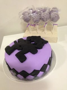 #Monstercat Monday :3 A Monstercat cake. Seriously. A Monstercat cake. #awesomeness