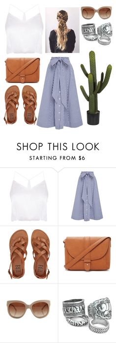 """""""Untitled #55"""" by notevenreal ❤ liked on Polyvore featuring Lisa Marie Fernandez, Billabong, Forever 21 and STELLA McCARTNEY"""