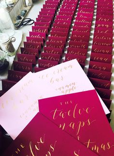 The Laura suite in burgundy, blush and gold