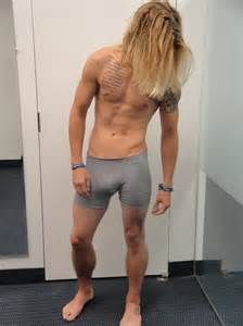 Matchless message, Long hair dude nude