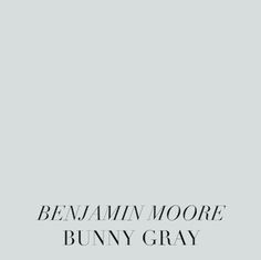 SummerHouse Interior Designers' favorite gray paint colors // www. Purple Paint Colors, Blue Gray Paint, Popular Paint Colors, Best Paint Colors, Bedroom Paint Colors, Grey Yellow, Neutral Paint, Benjamin Moore Bunny Gray, Benjamin Moore Bedroom
