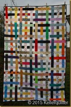 Simply Woven - genäht von QF Tinkerreiter, gequiltet von QF Ratamaa