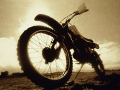 Low Angle View of a Dirt Bike Photographic Print at AllPosters.com