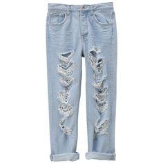 キルティングトートバッグ ❤ liked on Polyvore featuring pants, jeans, bottoms, trousers and blue pants