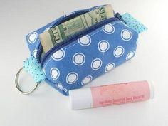 Tutorial: Teeny Tiny Mini Zipper Pouch