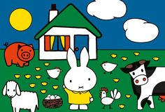 miffy with friends