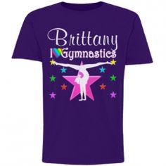 PERSONALIZED GYMNASTICS Awesome personalized Gymnastics Tees and Gifts! http://www.customizedgirl.com/s/JLPOriginals  #Gymnastics #Gymnast #WomensGymnastics #Personalizedgymnast #Ilovegymnastics