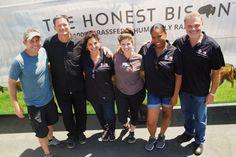 The team behind the scenes: Sean Lenihan, Dwayne Lortie, Carla Cockriel, Karla Campos, Marie Hooks and Barry Saven.