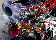 Mecha Anime, Super Robot, War, Illustration, Videogames, Movies, Highlight, Films, Video Games