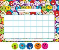 Smiley Reward Charts650. Reward Chart TemplatePrintable ...  Free Reward Chart Templates