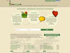 foodsharing.de. Lebensmittel teilen statt wegzuwerfen ist das Motto von Foodsharing...