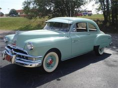 1952 Pontiac Chieftain Two Door Sedan