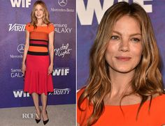 Michelle Monaghan In J. Mendel – Variety And Women In Film Emmy Nominee Celebration