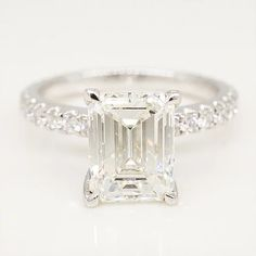 Brilliance in Diamonds is a husband and wife owned boutique based in Metairie that specializes in custom engagement rings and custom fine jewelry. Emerald Cut Engagement, Diamond Engagement Rings, Emerald Diamond, Diamond Rings, Meaningful Jewelry, Designer Engagement Rings, Fine Jewelry, Stone, Rock