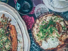sieni-mascarpone risotto