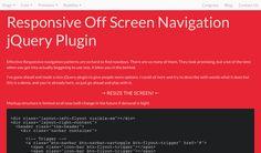 cbFlyout - Responsive Navigation jQuery Plugin, #Code, #Javascript, #jQuery, #Menu, #Navigation, #Off_Canvas, #Plugin, #Resource, #Responsive, #Snippets, #Web #Design, #Development