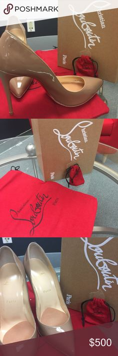 Christian Louboutin Pigalle Follies 100 Patent Practically brand new comes with shoe bag and extra heel tips 100% authentic. Christian Louboutin Shoes Heels