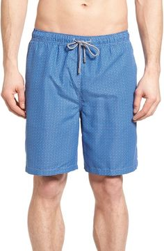 Peter Millar Paisley Neat Swim Trunks. #petermillar #cloth #