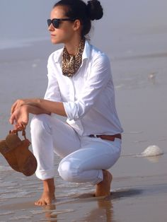 Perfect s/s outfit - I need to find the perfect pair of white jeans!