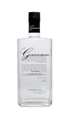 Geranium gin er udviklet af gin-eksperten Henrik Hammer, og muligvis den bedste gin der kom på markedet i 2009. Geranium planten som findes i denne gin, er med til at skabe en unik smagsoplevelse, der medvirker at denne gin ikke blot smager godt i en G, men også sammen med frugt.