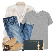 Boyfriend Button Down Shirt & Ankle Boots by colierollers on Polyvore featuring ADAM, maurices, J.Crew, Ivanka Trump, Kurt Geiger and Bling Jewelry