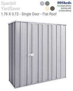 Slimline F52 1 76m X 0 72m Sgl Door