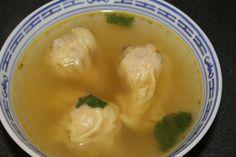soupe asiatique raviolis porc / crevettes