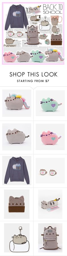 """""""#PVxPusheen"""" by zippy135 ❤ liked on Polyvore featuring Anja and Pusheen"""