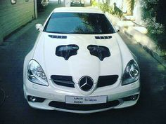 Mercedes-Benz SLK R171 equipped with an engine from the McLaren-Mercedes SLR..