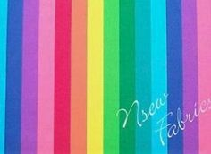 Your place to buy and sell all things handmade Rainbow Quilt, Rainbow Theme, Rainbow Colors, Care Bears, Over The Rainbow, Striped Fabrics, Cotton Quilts, Fabric Swatches, Swirls