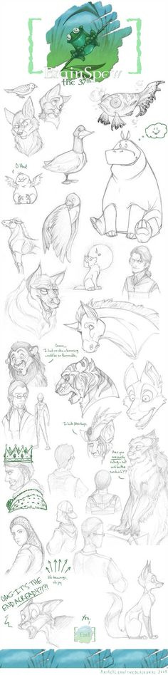 68 super Ideas for drawing pencil animals deviantart Animal Sketches, Animal Drawings, Pencil Drawings, Art Sketches, Art Drawings, Doodle Drawing, Illustrator, Poses References, Amazing Drawings