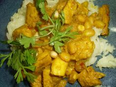 Northern Thai Curry With Chicken and Peanuts