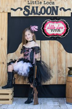 Easy saloon girl costume diy.... corset and make my own tulle skirt with thigh highs and oxford bootie heels