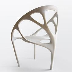 Brazil - Daniel Widrig: Another wonderful chair. Designed to be cut from laminated wood.