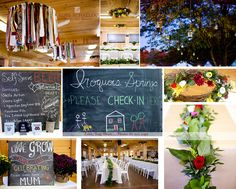 Iroquois Springs wedding in the fall
