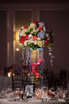 Centerpieces, reception, décor   Location: The Addison, Boca Raton FL www.focusedonforever.com Focused on Forever Studio South Florida Wedding Photographer