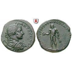 Römische Provinzialprägungen, Thrakien-Donaugebiet, Nikopolis am Istros, Elagabal, Bronze, ss-vz/ss+: Thrakien-Donaugebiet,… #coins