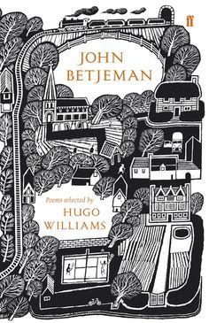 John Betjeman: Poems Selected by Hugo Williams (Faber Anniversary Edition) by Sir John Betjeman Best Book Covers, Beautiful Book Covers, Book Cover Art, Book Cover Design, Book Art, Ex Libris, Buch Design, Book Jacket, Grafik Design