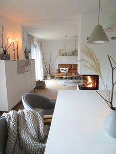 Weil ich mich so über den Kamin freue ... #wohnzimmer #livingroom #esszimmer…